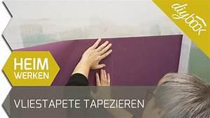 Vliestapete Tapezieren Untergrund : vliestapete tapezieren zwei farben ohne rapport youtube ~ Watch28wear.com Haus und Dekorationen