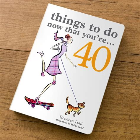 40th birthday decorations uk things to do now that you re 40 gift book 40th