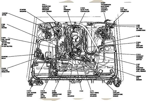 Ford Diesel Engine Wiring by Ford Diesel Engine Diagram Talk About Wiring Diagram