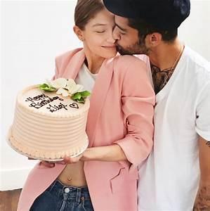 Gigi Hadid Rings in Her 22nd Birthday with Zayn ...