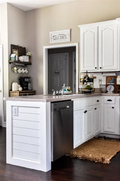 Where Can U Buy Shiplap by How To Add Character To A Kitchen Peninsula Or Kitchen Island