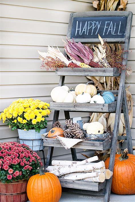 trending  fall porch decorating ideas