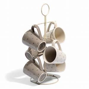 Tasse à Café Maison Du Monde : support 6 mugs petits coeurs porte tasses maisons du monde ~ Teatrodelosmanantiales.com Idées de Décoration