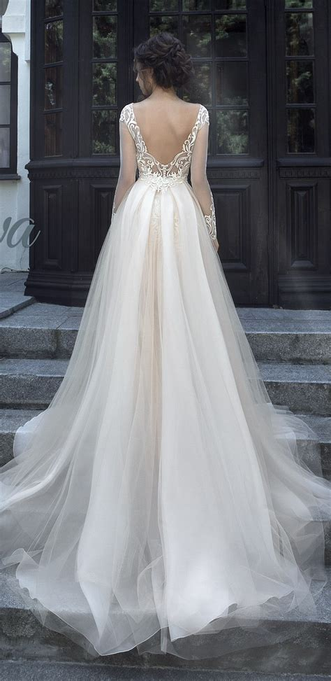 20 Stunning Open And Low Back Wedding Dresses For 2017