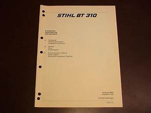 Stihl Earth Ground Dirt Auger Spare Parts Diagram List