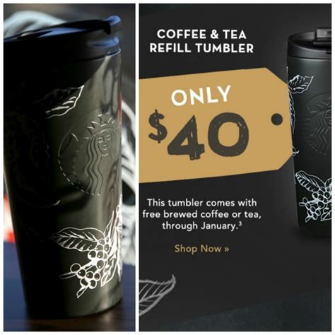 The Starbucks January Refill Tumbler (Available now for January 2016)   StarbucksMelody