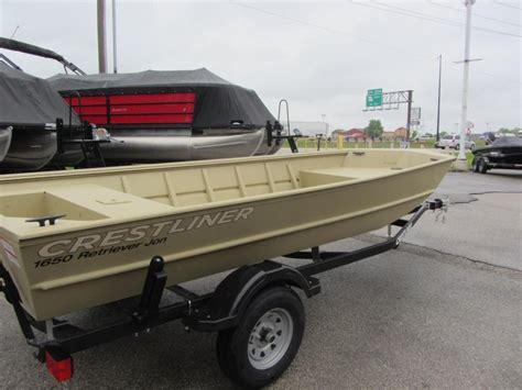 Crestliner Boats Retriever by Crestliner 1650 Retriever Jon Boats For Sale