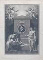 Johann Caspar Lavater: allegorical mourners at his tomb ...