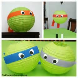 Ninja Turtle Table Set