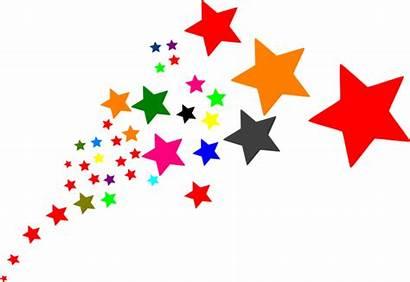 Stars Clip Clipart Star Cartoon Shooting Vector