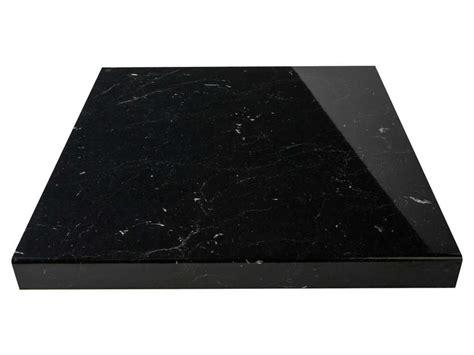 plan de travail l 300 cm marbre noir vente de plan de travail conforama