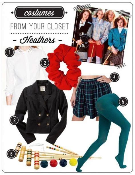 Costumes In Your Closet Ideas by Last Minute Costumes From Your Closet Heathers Move