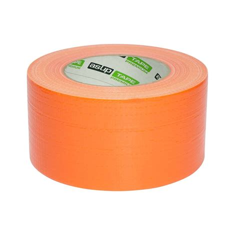 asup tape premium gewebeklebeband  mm    orange