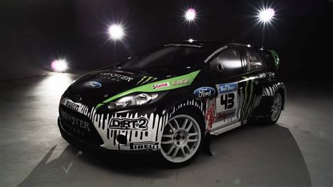 ken block  ford fiesta   spotlight