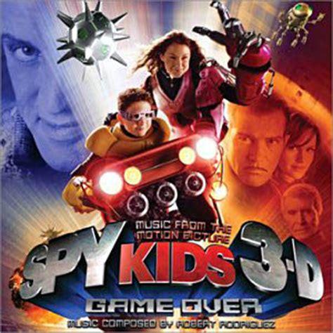 spy kids  game  soundtrack details