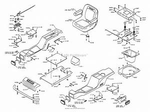 Dixon Ztr 4516k  2002  Parts Diagram For Body