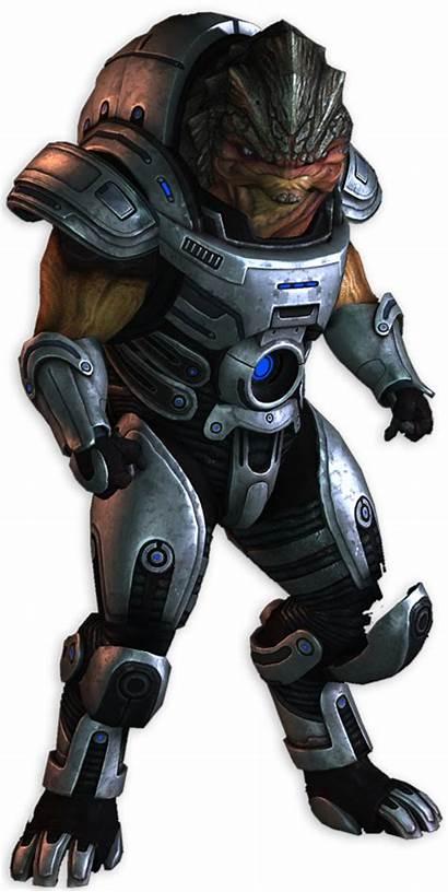 Mass Effect Grunt Character Mech Transparent Scary