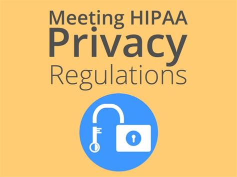 Meeting The Hipaa Privacy Requirements