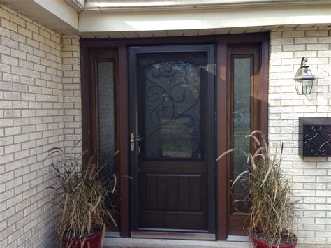 Thermatru Entry Door Installed By Opal Enterprises  Entry