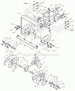 Yard Machine Snowblower Parts Diagram