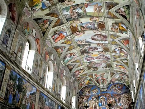 Painted The Ceiling Of The Sistine Chapel In Rome by October 2012 S Ramblings