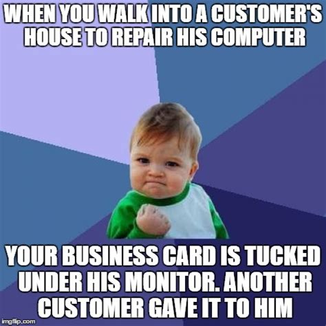 Business Kid Meme - as a small time independent service technician this made my night imgflip
