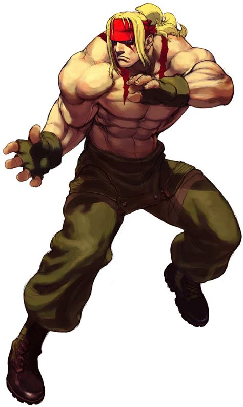 Street Fighter Characters Alex Street Fighter 3 Game