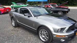 2008 Shelby GT500 For Sale~6 Speed~3900 Miles~Vapor Silver~Shaker 1000~LIKE NEW - YouTube