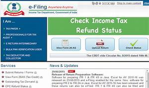 Check Income Tax Refund Status Online 2017-18 - Step by ...