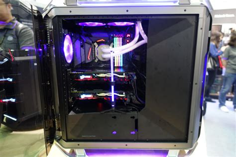 6 recessed lighting cooler master showcases the cosmos c700p on cosmos line 39 s