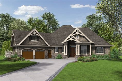 Craftsman Style House Plan 3 Beds 2 5 Baths 2233 Sq/Ft