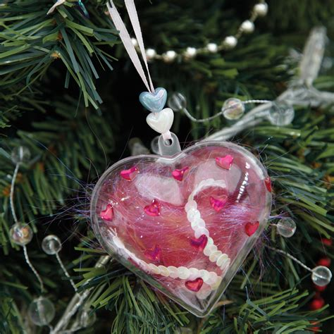 buy clear fillable christmas gift ornaments pk tts