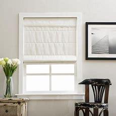 Ivory Cordless Fabric Roman Blackout Shade 24 X 72