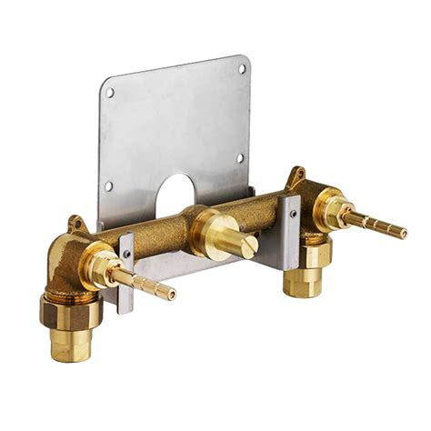 tub and shower faucets shower valves 3 4 inch thermostatic wall valve from dxv
