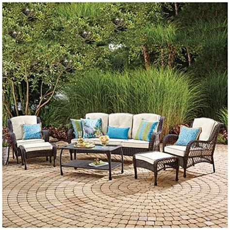 Wilson Fisher Patio Furniture Cushions by Wilson Fisher 174 Barcelona 6 Resin Wicker Outdoor