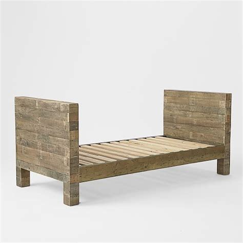 rustic pine dining emmerson reclaimed wood daybed natural west elm