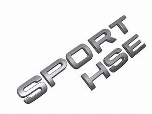 silver sporthse letters for range rover supercharged With range rover sport lettering