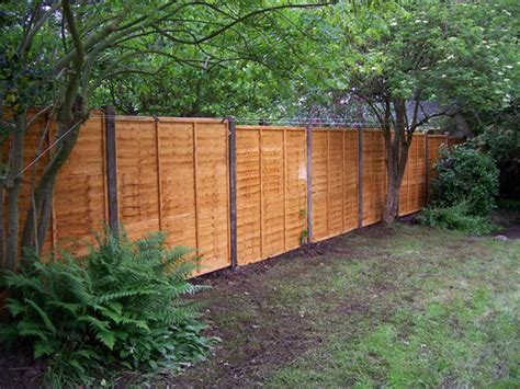 Main Garden Care-panel Type Fencing Can Be Constructed
