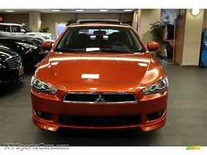 2009 Mitsubishi Lancer GTS in Rotor Glow Orange Metallic