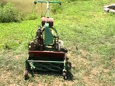 antique mower coldwell youtube