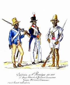 Expedition to St.Domingue, Army Coloniale of Toussaint ...