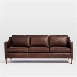 Pretty west elm hamilton sectional sofa in sienna leather for Sectional sofa hamilton
