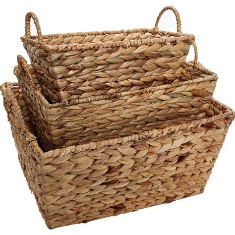 tk maxx kitchen accessories brown wicker storage baskets tk maxx kitchen 6268