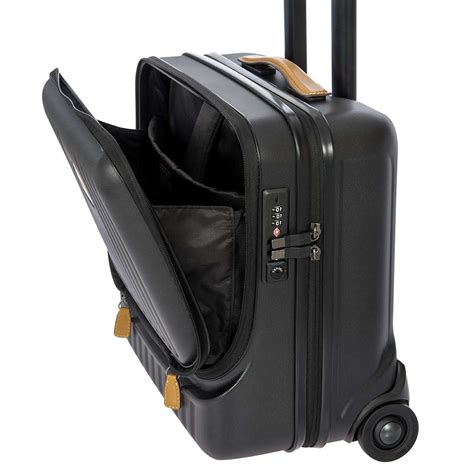 capri pilot cabin case black brics milano
