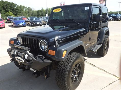 used jeep rubicon for sale check out this 2004 used jeep wrangler for sale ewald