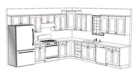 L Shaped Kitchen Island Floor Plan Perfect Home Design
