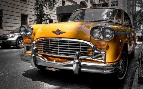 Yellow Classic Car Wallpapers Hd / Desktop And Mobile