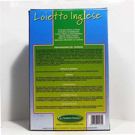 tappeto inglese sementi prato loietto inglese tappeto erboso semi ortaggi