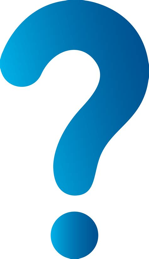 question mark cartoons clipart