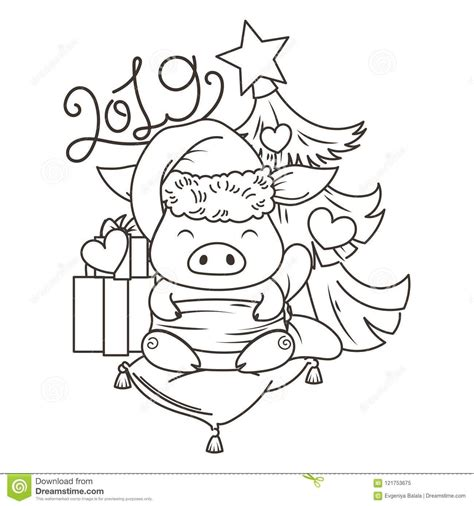 cute  pig cartoon coloring page  year coloring pages coloring pages cartoon coloring